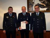 Bild 3 von Ehrungen für 160 Jahre Mitgliedschaft in der Feuerwehr