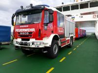 Bild 0 von Neues Feuerwehrfahrzeug hat Juist erreicht