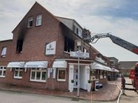 Bild 2 von Statt Papierkorb brannte die ganze Wohnung