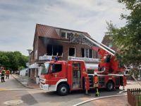 Bild 3 von Statt Papierkorb brannte die ganze Wohnung