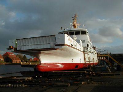 """Bild 0 von """"Frisia VI"""" ist bis zu den Osterferien Juister Winterschiff"""