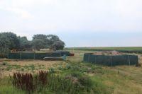 Bild 1 von Bauschild kündigt den Bau der Rettungswache an