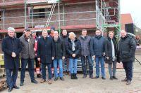 Bild 0 von Landkreis Aurich lud zum Richtfest der neuen Rettungsstation ein