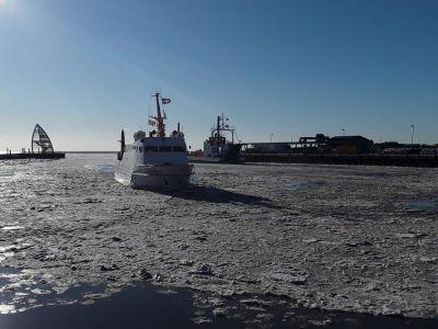 Bild 0 von Noch läuft der Schiffsverkehr nach Juist