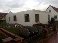 Bild 1 von Winterzeit ist Bauzeit: Siedlungshaus musste Neubau weichen