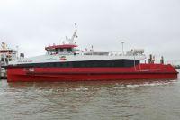 """Bild 8 von Reederei Frisia führt Testfahren mit Katamaran """"Adler Rüm Hart"""" durch"""