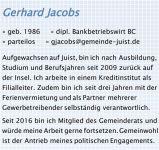 Bild 1 von Ratskandidaten der CDU Juist - Teil 2