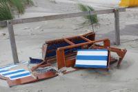 Bild 7 von Windhose über Juist richtete großen Schaden am Strand an