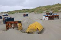 Bild 2 von Weitere Fotos von der Windhose am Juister Strand