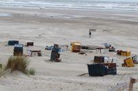 Bild 6 von Weitere Fotos von der Windhose am Juister Strand
