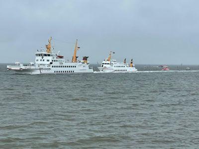 """Bild 0 von """"Frisia XI"""" musste nach Juist zurück geschleppt werden"""