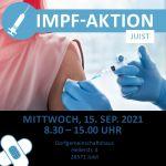 Bild 0 von Mobiles Impfteam vom Landkreis Aurich kommt am Mittwoch, 15.09.2021 nach Juist